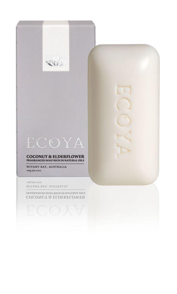 ECOYA Soap - Coconut & Elderflower  http://www.ecoya.com/