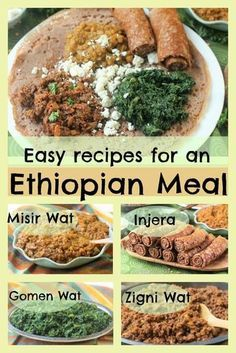 Four Easy Ethiopian Recipes for a Fantastic Feast   Kitchen Frau