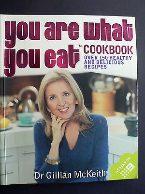 YOU ARE WHAT YOU EAT COOKBOOK - DR GILLIAN McKEITH - BEST SELLER for AUD11.95 #Books #Magazines #Cook #COOKBOOK Like the YOU ARE WHAT YOU EAT COOKBOOK - DR GILLIAN McKEITH - BEST SELLER? Get it at AUD11.95!