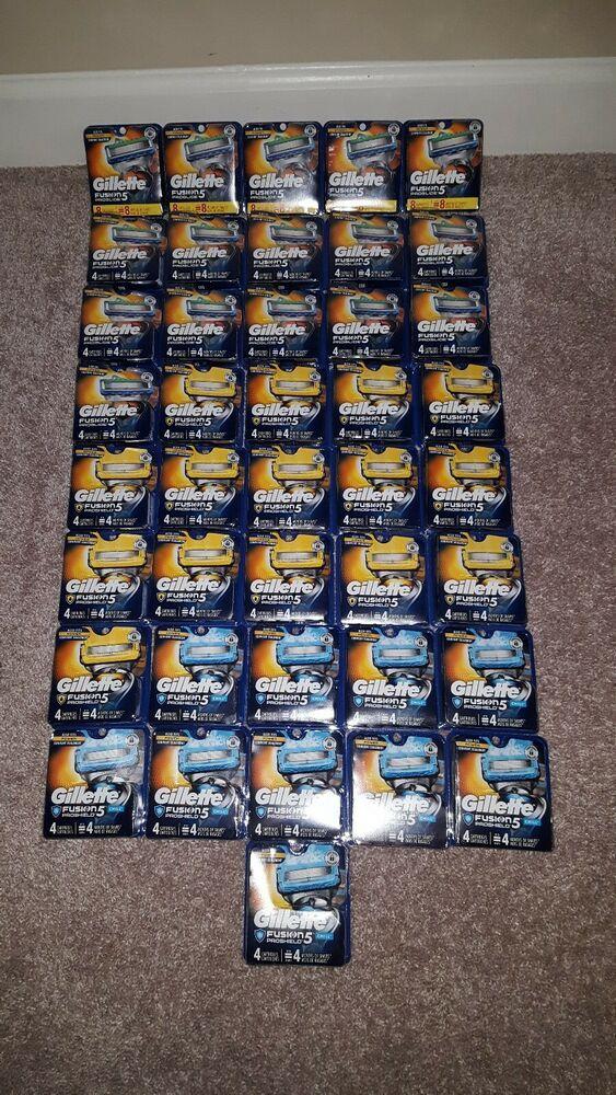 Ebay Sponsored 41 Gillette Fusion 5 Proglide Power Razor Blades 5 8 Packs 36 4 Packs Shave Foam Shave Gel Gillette Fusion