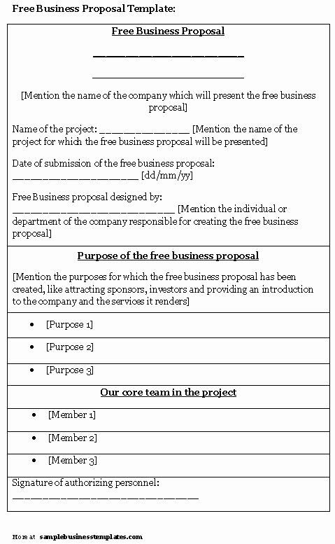 24 Business Proposal Template Free Download In 2020 Free