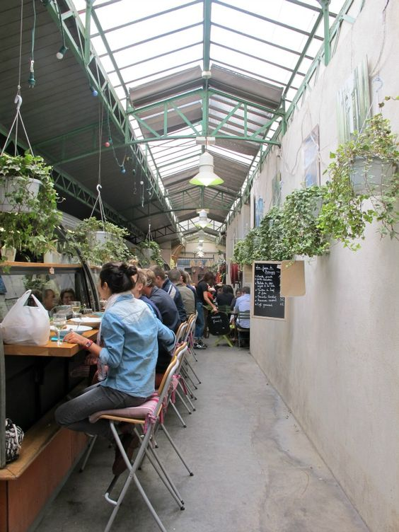 Marché des enfants rouge - Paris' oldest covered market in le Marais selling and serving local produce and international delicacies... the burgers are YUM, and I'm going back for the tagine next time