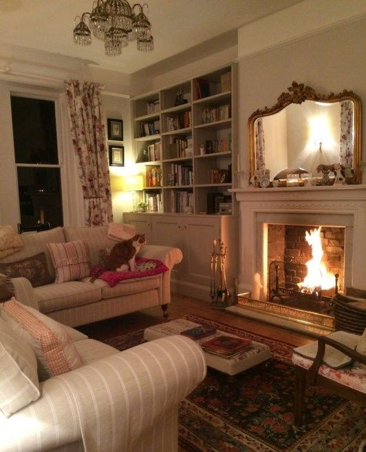 49 Cozy French Country Living Room Decor Ideas French Living