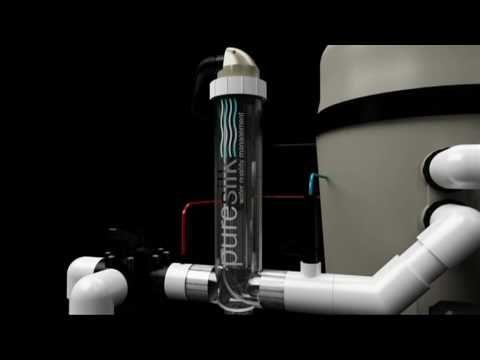 PureSilik chlorinator and chromatalyzer