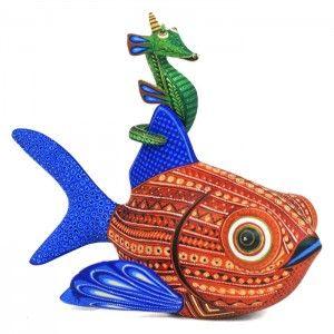 Angel Fabian: Fish and Seahorse