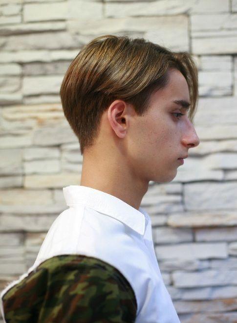 ビジネスok 外国人風おしゃれショート 髪型メンズ ヘアスタイル