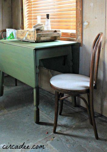 How to use milk paint on oak wood