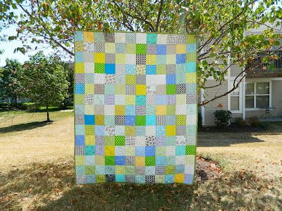 s.o.t.a.k handmade: simple patchwork quilt