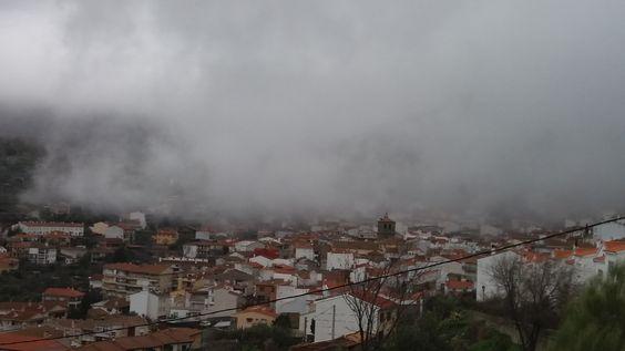 El Real de San Vicente (Toledo) - Niebla invernal.