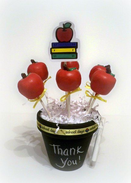 """Apple Cake Pops"" Love this!!"