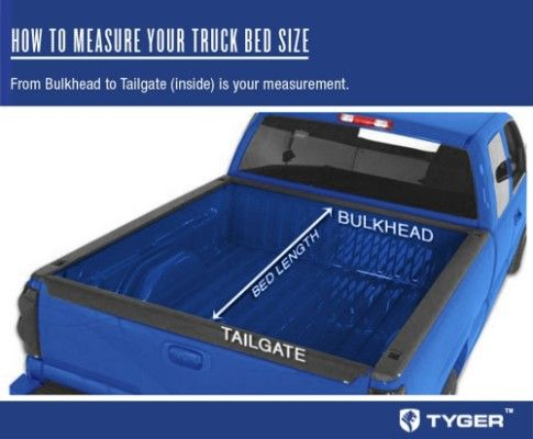 Tyger Auto Tg Bc3c1006 Tri Fold Truck Bed Tonneau Cover 2014 2018 Chevy Best Truck Bed Covers Tonneau Cover Truck Bed Covers