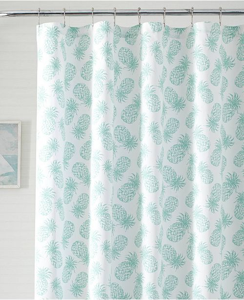 Tommy Bahama Home Tommy Bahama Tossed Pineapple Shower Curtain