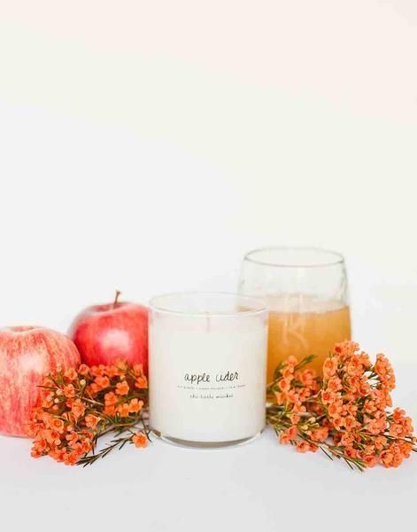 Fair Trade Apple Cider Scented Soy Candle