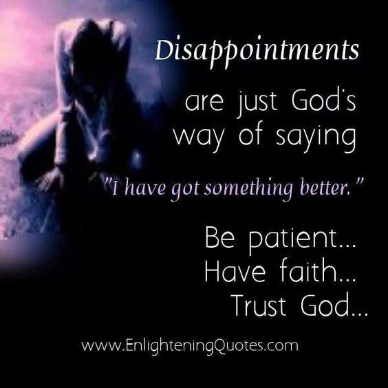 Trust God!