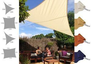 Kookaburra Party Shade Sail Water Resistant Sun Canopy Patio Awning Garden 96%UV
