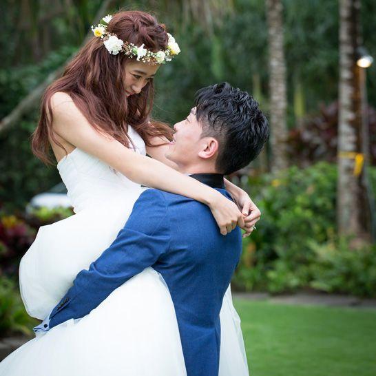 太田夫妻の結婚式の写真