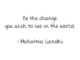 Without Change, No One Will Know Better.