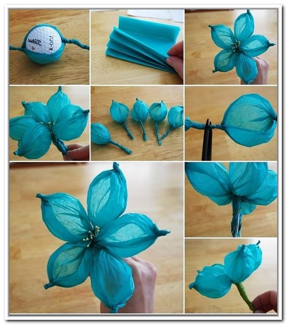 Pinterest the world s catalog of ideas for Flower making ideas step by step
