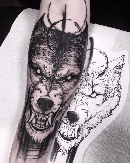 Bruno Santos Wolf Tattoo Design Werewolf Tattoo Wolf Tattoo Sleeve
