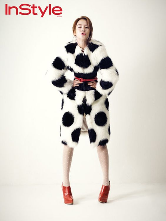 Song Ji Hyo - InStyle Magazine January Issue '12