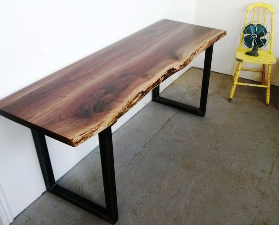 Cottages black and industrial on pinterest for 8 deep console table