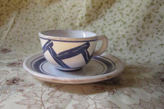 Chávena de café da Cerâmica Vieira