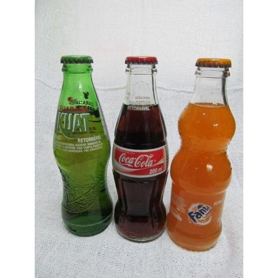 Bottles Coke Fanta The little one Kuat 200ml