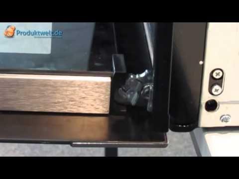 Backofentür ausbauen & reinigen - YouTube