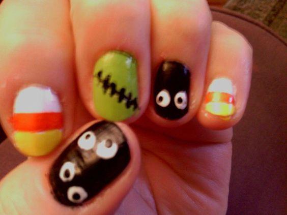 Halloween nails by Elena!