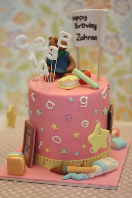Back to School cake | Flickr - Photo Sharing!