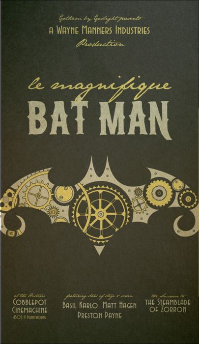 Batman meets steampunk