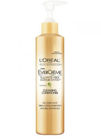 non lathering shampoos | No-Poo Goes Mass with the L'Oréal EverCrème Cleansing Conditioner ...