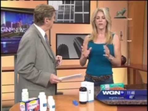 Wellness expert JJ Virgin discusses Alkalol Nasal Wash on WGN-TV in Chicago.