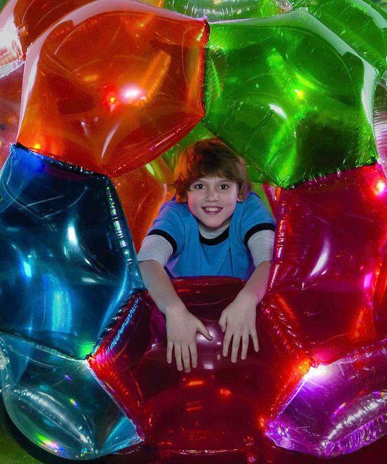 Light-Up Kaleidoscopic GBOP™ LED Ball