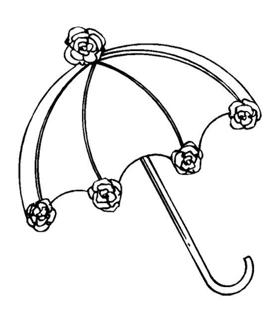Coloring Pages Umbrella : Beautiful umbrella coloring pages for