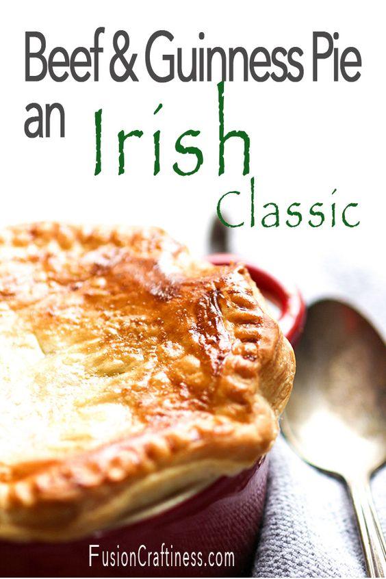 Irish Beef & Guinness Pie