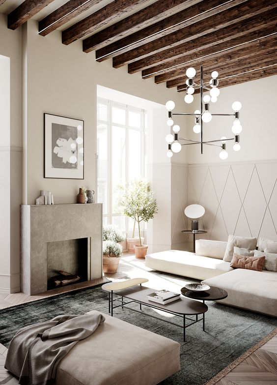 Scandinavian meets Spanish in this stunning urban residence in Palma, Mallorca. Spain based architecture firm AVW Arquitectura and Stockholm based interior designers Whyte Lilja collaborated on Impremta Garden, an apartment complex housed in a 400 year old building. Via: Honestlywtf, online magazine