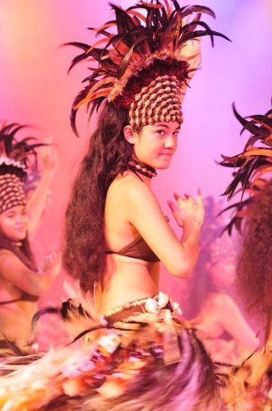 Ori Tahiti. Tahitian dance