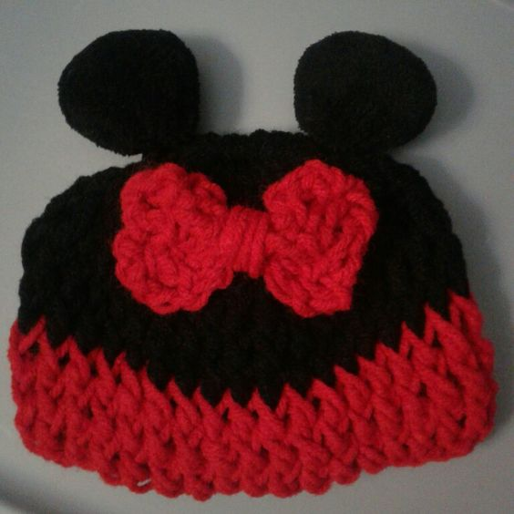 Gorrito p/niña mimi mouse
