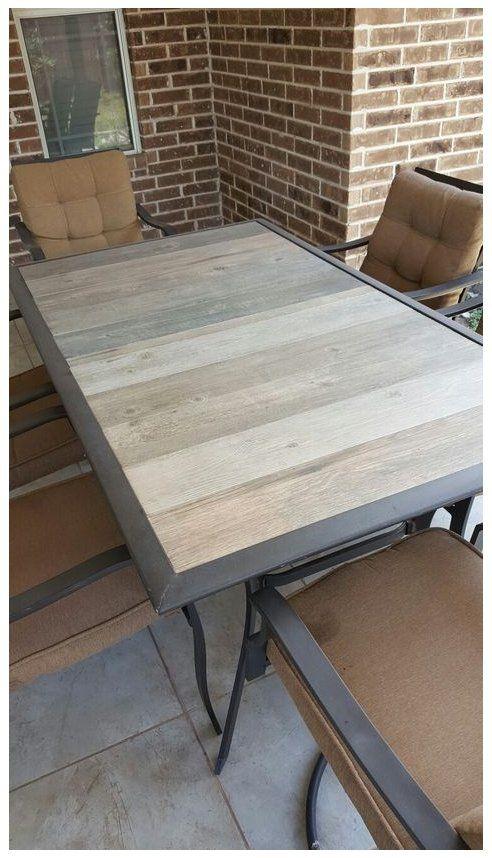 patio table top diy patio table