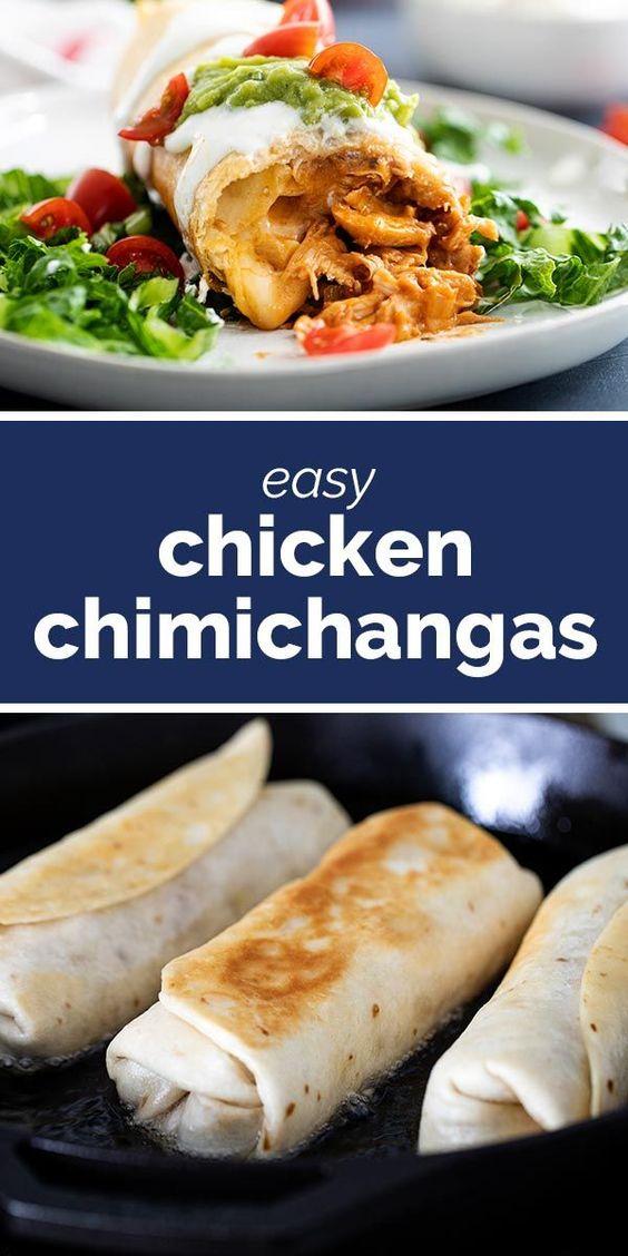 Chicken Chimichanga Recipe