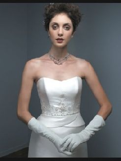 trade old wedding gown for a new one