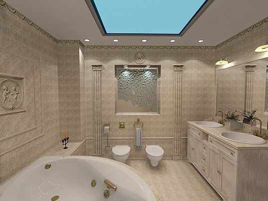 Bathroom suspended ceiling google search bathroom for Fall ceiling designs for bathroom