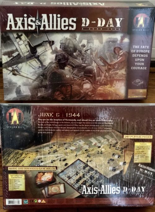 Axis  Allies D-Day Game