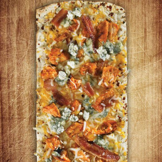 Thin crust buffalo chicken pizza recipe