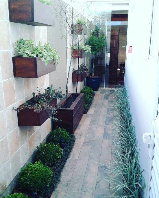 Tata Halaman Sempit Memanjang Di Samping Rumah Dengan 7 Inspirasi Taman  Minimalis! ~ 1000+ Inspirasi Desain Arsite…   Kebun Kecil, Taman Teras, Ide  Halaman Belakang