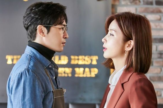 "Kang Ji Hwan And Park Sol Mi Have A Tense Reunion In ""Feel Good To Die"""