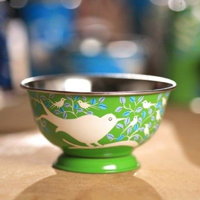 from Greenheart. handpainted bowls.  Love them, but would mean handwashing...