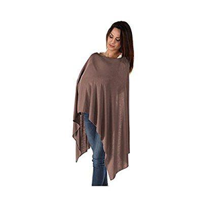 BambooMama - La bufanda de bamboo de lactancia maternal (cacao) - Discreta bufanda y cobertura de enfermería todo en uno - El regalo ideal para una nueva madre.