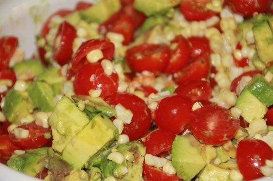 ... Avocado and Tomato Salad with Honey Lime Dressing | Limes, Avocado and